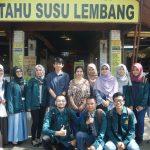 Kuliah Lapangan Mahasiswa Biokimia Pangan ke Pabrik Tahu Susu Lembang